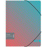 """Папка на резинке """"Contrast"""", А4, 600 мкм"""