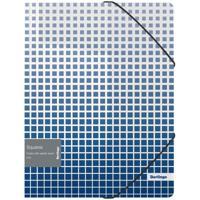 """Папка на резинке """"Squares"""", А4, 600 мкм"""