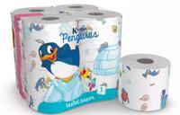 """Туалетная бумага """"Пингвины"""", 3 слоя, 4 рулона, 200 листов"""