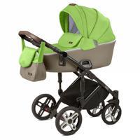 """Детская коляска 2 в 1 Nuovita """"Carro Sport"""", цвет: Verde Cappuccino/Зеленый капучино"""