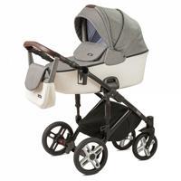 """Детская коляска 2 в 1 Nuovita """"Carro Sport"""", цвет: Grigio bianco/Серо-белый"""