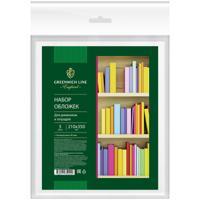 Обложки для учебников, ПП, 90 мкм, 210x350 мм, 5 штук
