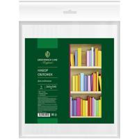 Обложки для учебников, ПВХ, 110 мкм, 265x590 мм, 5 штук