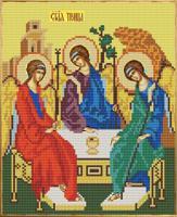 """Рисунок на ткани для вышивания бисером """"Святая Троица"""", 20х25 см, арт. 9206"""