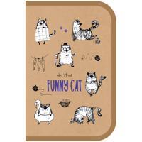"""Пенал """"Funny Cat"""", 1 отделение, 200x130 мм"""