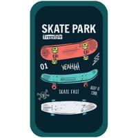 """Пенал """"Skate park"""", 2 отделения, 190x110 мм"""