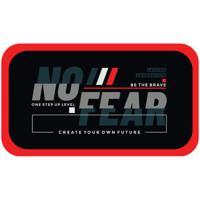 """Пенал """"No fear"""", 2 отделения, 190x110 мм"""