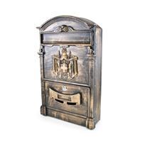 Ящик почтовый № 4010В, цвет: старая медь