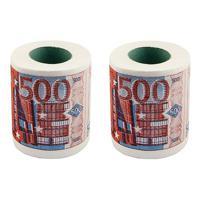 """Набор туалетной бумаги """"500 ЕВРО"""", 2 штуки"""