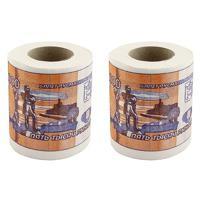 """Набор туалетной бумаги """"5000 руб"""", 2 штуки"""