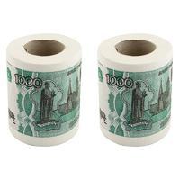 """Набор туалетной бумаги """"1000 руб"""", 2 штуки"""