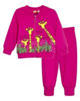 Комплект (джемпер, брюки) для девочки Let's Go, рост 74 см,арт. 11149 (цвет: фуксия)