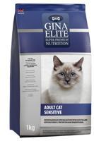 """Сухой корм для кошек с чувствительным пищеварением Gina Elite """"Cat Sensitive"""", 1 кг"""