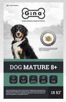 """Сухой корм для пожилых собак Gina """"Dog Mature 8+"""", 18 кг"""