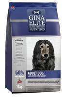 """Сухой беззерновой корм для взрослых собак Gina Elite """"Grain Free Dog"""" (с ягненком, сладким картофелем и мятой), 1 кг"""