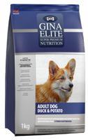 """Сухой корм для взрослых собак Gina Elite """"Adult Dog"""", с уткой и картофелем, 3 кг"""