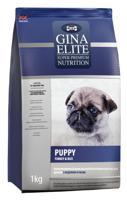 """Сухой корм для щенков Gina Elite """"Puppy"""", с индейкой и рисом, 1 кг"""
