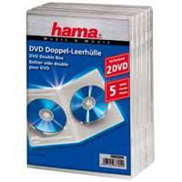 "Коробка ""Hama"" на 2CD/DVD, 5 штук"