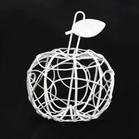 """Миниатюра """"Металлическое яблоко"""", 8 см"""