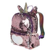 Детский рюкзак, цвет: красно-розовый (арт. 18273)