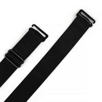 """Бретели для бюстгальтера """"TBY"""", цвет: черный, 20 мм, 10 пар, арт. TBY.0L2001 (количество товаров в комплекте: 10)"""