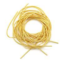 Канитель гладкая, матовая, цвет: золото, 1 мм, 5 +/- 0,1 г (арт. КМ001НН1)