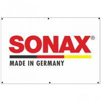 "Флаг-логотип ""Sonax"", цвет: белый, 90x135 см"