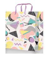 """Пакет подарочный """"Необычный узор"""", 11,5x14,5x6 см"""