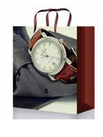 """Пакет подарочный """"Стильные часы"""", 11,5x14,5x6 см"""