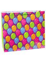 """Пакет подарочный """"Яркие воздушные шарики"""", 45х45х21 см"""