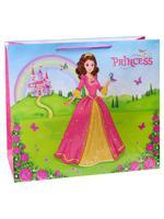 "Пакет подарочный ""Прекрасная принцесса"", 50х72х16 см"