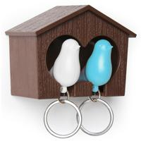 """Держатель для ключей """"Sparrow"""", цвет: белый, голубой"""
