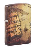 "Зажигалка ""Zippo. Pirate Ship"", 38x13x57 мм"