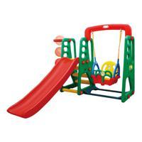 Игровой детский комплекс с горкой Happy Box JM-1002, цвет: зеленый, арт: HB_JM-1002