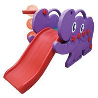 "Горка детская Happy Box ""Elephant Slite"", цвет: сиреневый, арт: HB_JM-706D"