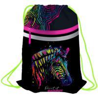 """Мешок для обуви """"Neon Zebra"""", 460x360 мм"""
