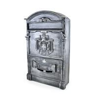 Ящик почтовый №4010В, цвет: старое серебро