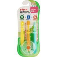 """Набор зубных щеток для детей от 4,5 до 18 месяцев """"PIGEON"""", 3 штуки"""