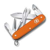 "Нож перочинный ""Victorinox. Pioneer X Alox LE 2021"", 93 мм, 9 функций, алюминиевая рукоять, оранжевого"