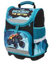 """Ранец для начальной школы """"Юнландия Wise. Monster-truck"""", 37х29х15 см"""