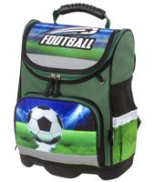 """Ранец для начальной школы """"Юнландия Wise. Play football"""", 37х29х15 см"""
