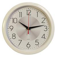 Часы настенные Бюрократ WALLC-R69P, белые