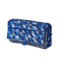 "Пенал-косметичка ""Geometric Blue"", 21х5,5х11 см"
