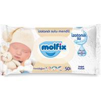 """Детские влажные салфетки Molfix """"Newborn с лосьоном"""", 50 штук"""