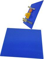 "Пластина для конструктора ""Baseplate"", 25,5x25,5 см (синяя)"