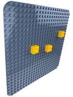 "Пластина для конструктора ""Baseplate"", 38x38 см (серый)"