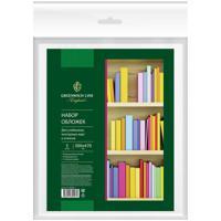 Набор обложек для учебников, контурных карт и атласов, 300x470 мм, ПП, 90 мкм, 5 штук