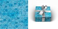"""Бумага упаковочная """"Джентельменский набор"""", 70x100 см, 1 лист"""