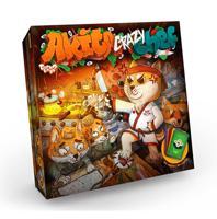 """Настольная карточная игра """"Akita Crazy Chef"""", 84 карты"""