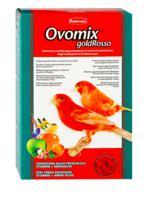 """Пигментирующий дополнительный корм для зерноядных птиц с красным оперением Padovan """"Ovomix Gold Rosso"""", 300 г"""